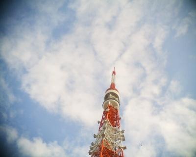 秋の空と東京タワー:R2