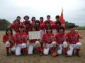 豊橋中学生女子春季 優勝:南部中学校