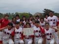 豊橋中学生女子春季大会 準優勝:高師台中学校