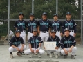 H26県理事長杯 男子2部 準優勝:レイダース