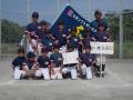 会長旗ジュニア男子準優勝:小木ソフトボールクラブ