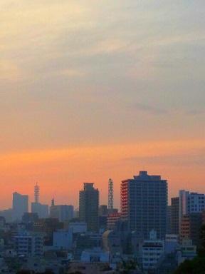 夕焼け0616