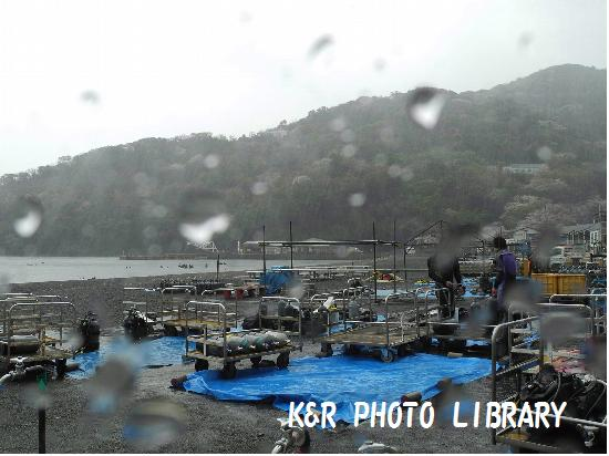3月30日土砂降り