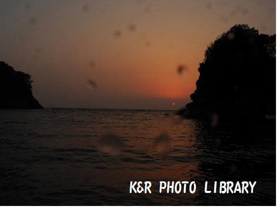 5月3日浮島の夕日