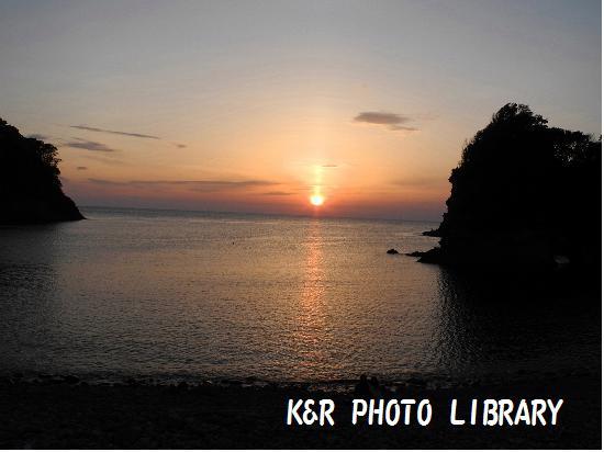 5月4日浮島の夕日