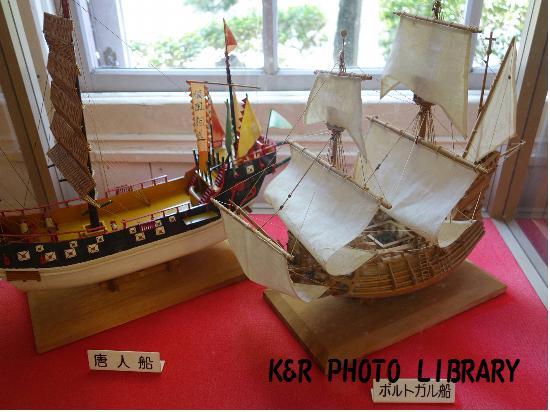 5月13日唐人船・ポルトガル船