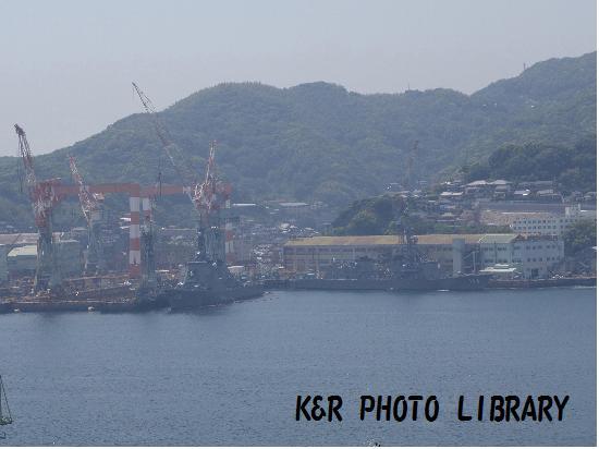 5月13日自衛隊の船