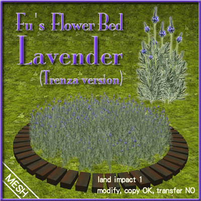 Fus Flower Bed Lavender POP