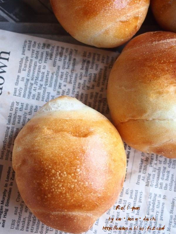 丸パン的ロールパン8