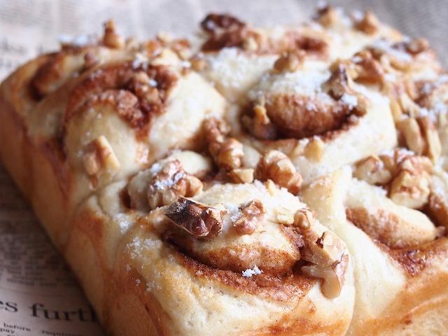シナモンロールちぎりパン2