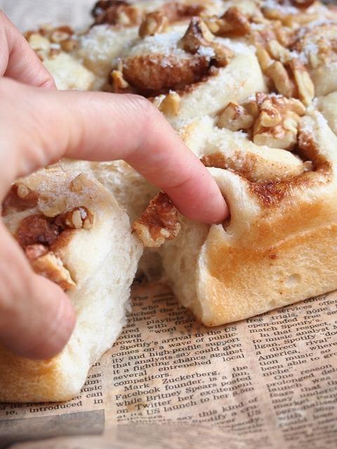 シナモンロールちぎりパン4