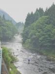 雨上がりの川の景色は、素敵!