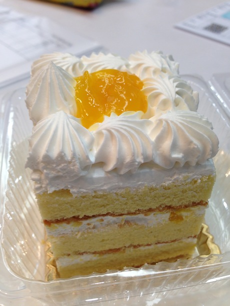 ケーキ買っておいてくれた
