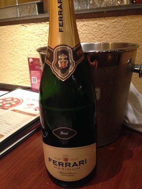 一番高いスパークリングワイン