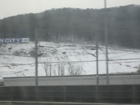 雪景色なんですけど〜