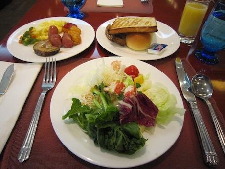 朝食出来上がり