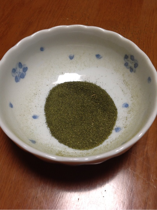 烏龍茶チーズケーキ5
