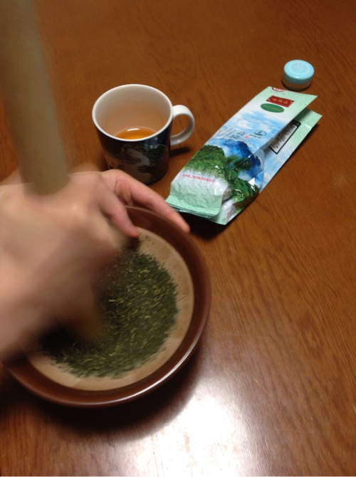 烏龍茶チーズケーキ6