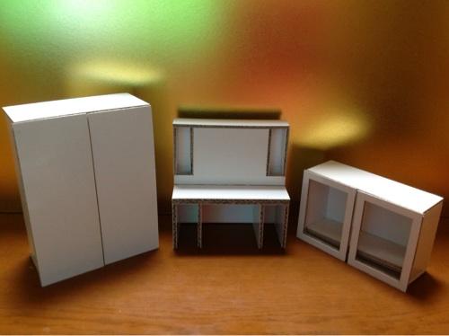 白い家具1