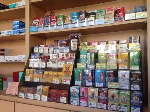 甲州市手巻きタバコ屋取扱店