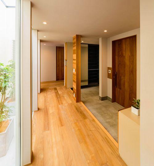 山梨木の温もり感じる木造平屋2、3F建て住宅オシャレモダン住宅家工務店ハウスメーカー