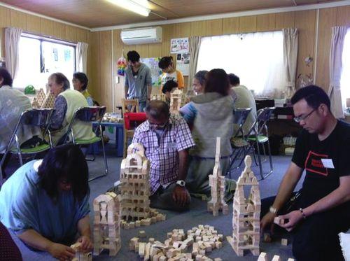 呼べる出張レクレーションイベント宮城仙台老人介護福祉施設リハビリ