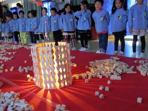 親子で楽しめる宮城県仙台市日本伝統文化昔の遊び積み木国際交流出張イベント催し
