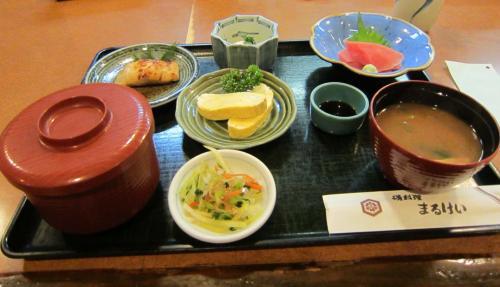 まるけい定食 ¥850