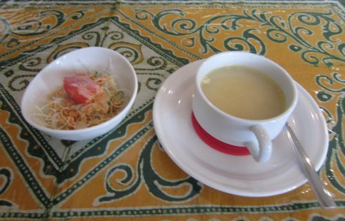 サラダ&ベジタブルスープ