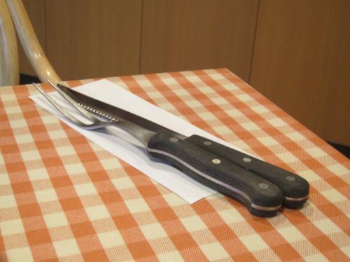 ナイフ&フォーク
