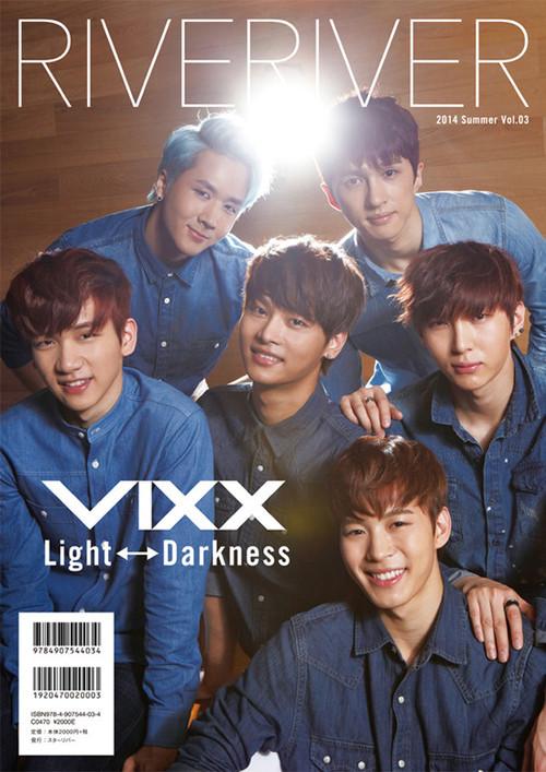 VIXX 裏表紙 RIVERIVER Vol.03