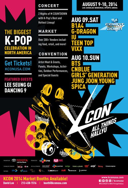 KCON 2014 M COUNTDOWN 2 Nights in LA 140814