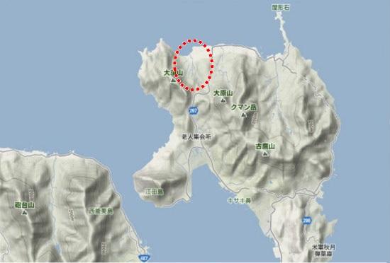 1)江田島町北部・幸ノ浦地区