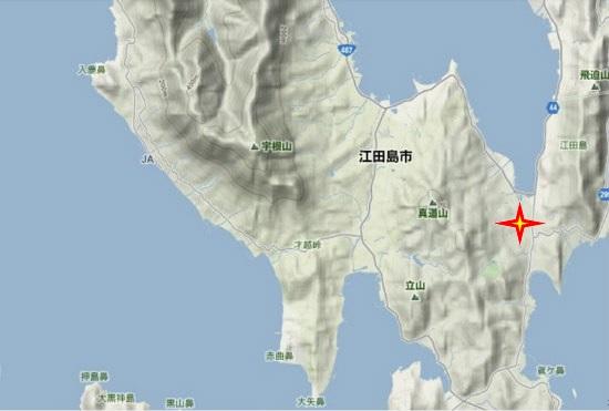 4)能美町・沖美町南部 旧飛渡瀬小学校