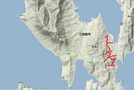 4)能美町・沖美町南部 飛渡瀬地区農道