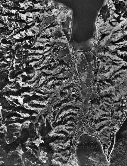 飛渡瀬航空写真(19480107)