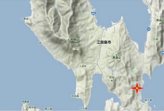 4)能美町・沖美町南部  柿浦大将軍社