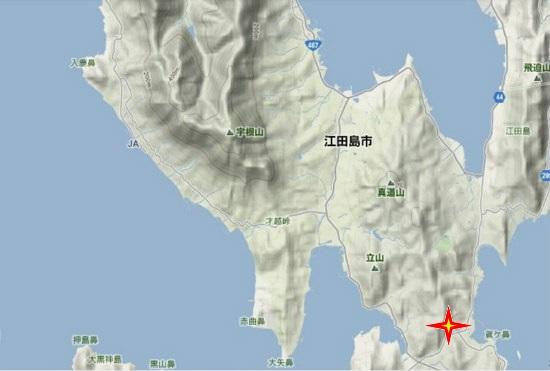 4)能美町・沖美町南部  柿浦下岡神社
