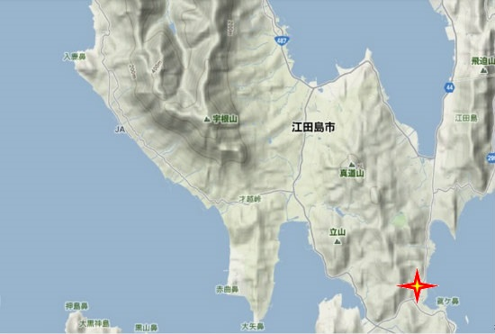 4)能美町・沖美町南部  柿浦妙覚寺