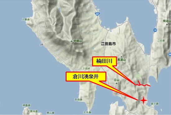 4)能美町・沖美町南部 楠田川・倉川
