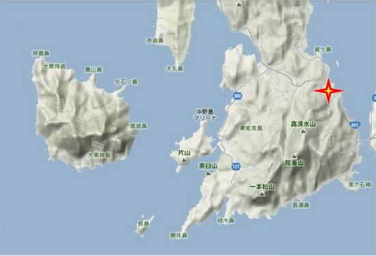 5)大柿町南部 南城山