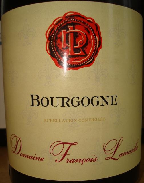 Bourgogne Domaine Francois Lamarche 2009