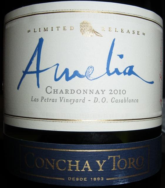 Amelia Chardonnay Las Petras Vineyard Concha Y Toro 2010