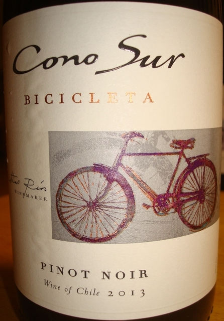 Cono Sur Bicicleta Pinot Noir 2013