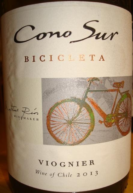 Cono Sur Bicicleta Viognier 2013
