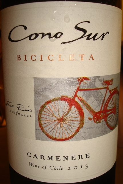 Cono Sur Bicicleta Carmenere 2013