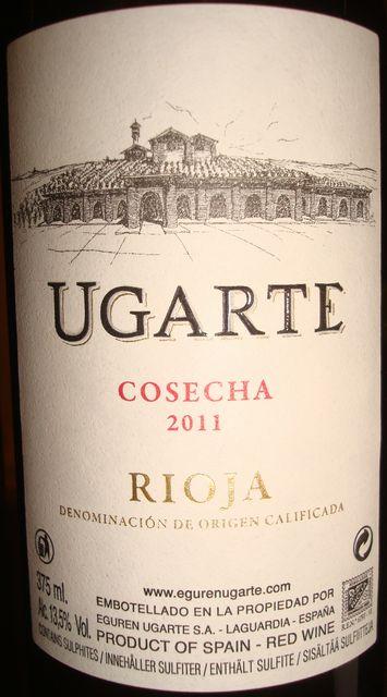 Ugarte Cosecha Rioha 2011