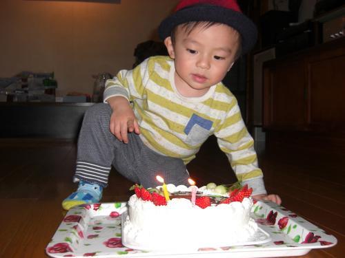 孫2歳の誕生日