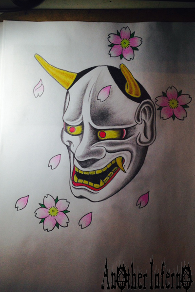 名古屋栄 大須 タトゥー 刺青 入墨 般若