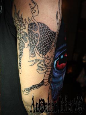 tattoo タトゥー 入れ墨 刺青 麒麟 キリン
